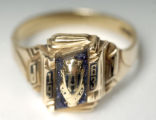 03/08/2005 Denver-The recently found 1963 class ring has yet to be claimed by its rightful owner. ...