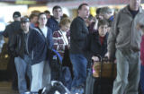 Denver, Colo.-February 23-2005)- A computer upgrade by Frontier Airlines caused long lines and...