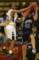 (BOULDER, Colo., March 10, 2005)  Alex Snyder, of the Harrison Panthers, left, fights for a...