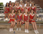 Denver, Colo., photo taken May 25, 2004-Girls all colorado tennis team. (front l-r) Julie...