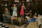 {Denver, Colo.  March 10, 2005}.  Desperate Housewives fashion shoot at the Denver Design Center...