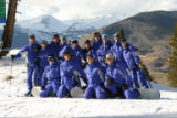 Crested Butte Mountain Schools instructors take time out for a group photo in 2005.They are...