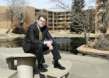 "Denver, CO Real estate investor Buck Blessing at his ""The Lakes at Monaco Pointe""..."