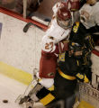 (DENVER, COLO.,  MARCH 4, 2005)   University of Denver Pioneers #27, Matt Laatsch, (cq Matt...