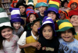 (DENVER, Colo., March 2, 2005)  second graders at Samuels Elementary School in south Denver wore...
