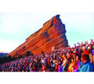 April 20, 2003 - Golden, Colo. - Red Rocks Amphitheater- Thousands of people gatherede Easter...