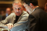 (3/9/05, Denver, CO)  The debate over House Speaker Andrew Romanoff's state budget bill begins...