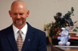 (DENVER, CO. MARCH 25, 20005) Denver Rescue Mission Resident Greg Peterson (CQ. Greg Peterson),...