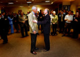 Denver, Colo., photo taken October 25, 2004- United States senate hopefuls Republican Pete Coors...