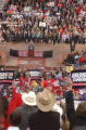 [(Morrison, CO,Shot on: 10/11/04)] President George W. Bush speaks to a near capacity crowd of...