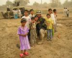 While on patrol in Baghdad, Lt. Brian Cyr and the soldiers of the 68th Chemical Chemical Co. have...