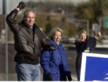 Lakewood, Co.,  November 2, 2004.   U.S. House of Representive candidate for district 7 Bob...