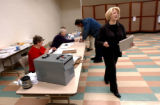 Fort Morgan, Colo., photo taken November 2, 2004-4th district canidate for congress,Marilyn...