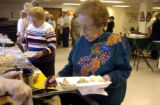 (Wheat Ridge, Co.,  November 3, 2004.)  Safeway retirees gathered at the UFCW building in Wheat...