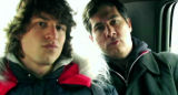 SATURDAY NIGHT LIVE -- NBC Late Night -- Pictured: (l-r) Andy Samberg and Chris Parnell rap about...