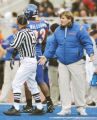 Boise State coach Dan Hawkins couldn´t complain to the officials too much Saturday, as his team...