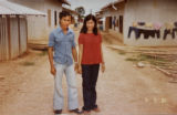 Aurora, Co.  5/1/04. Mostly Cambodia copy photos.  Randa and Setan Lee, in the transit camp, or...