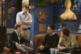FOUR KINGS -- NBC Series -- Pictured: (l-r) Seth Green as Barry, Josh Cooke as Ben, Todd Grinnell...