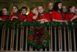 The Celebration Singers and Jubilation Ringers from the Bethlehem Lutheran Church and School in...