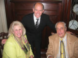 Nov. 3, 2005 - Denver Social Register Tea. Social Register members Edie and Mort Marks, seated,...