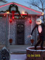 Holiday Lights. Eric Jacobsen's house The display is based on the characters from the Disney movie...