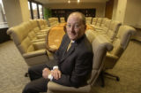 Michael B. Hobbs, the new president for the Colorado District of KeyBank, is photographed in his...