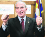 COEA101 - Republican Congressman Bob Beauprez launches his campaign for governor of Colorado on...
