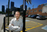 Ken Schroeppel (cq), 42, of Denver is an urban planner and better known as the author of the...