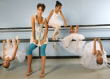 Fashion for Spotlight.  Leg warmers at the Cherry Creek Dance studio in Denver on June 15, 2006. ...