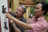 (NYT72) HANOI, Vietnam -- June 14, 2006 -- VIETNAM-LANGUAGE-2 -- John Balaban, president of the...