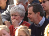 (DENVER, Colo., Shot on 4/20/04) -- An unidentified couple, possibly the parents of Lauren...
