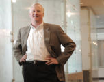 (DENVER, CO., APRIL 20, 2004)  Steve Schied the newest CEO for Janus poses for a portait at their...