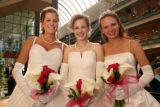 (Denver, Colo., June 17, 2006) Alli Meers, Kelli Carlson, and Julia Swinehart.  Le Bal de Ballet...