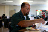 Willis Rouse, cq, a inmate of the Colorado Department of Corrections speaks Friday June 23, 2006...