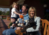 (Denver, Colo., April 26, 2004) Kiki and Peggy Vandeweghe  open up their house.  Kiki, Peggy,...