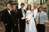 (Denver, Colo., June 17, 2006) Ben, Gay, Joey, Julie, and Barry Curtiss-Lusher, with Barry's...