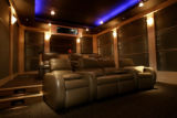 Premier Home Theater seating is the seating of choice in one of the home theater rooms at...