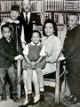 (NYT7) UNDATED-- Jan. 31, 2006 -- OBIT-SCOTT-KING-6 -- The Rev. Dr. Martin Luther King Jr. with...