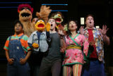 "From ""Avenue Q"", appearing at the Wynn Las Vegas. ""Kate Monster,"" Kelli..."