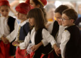 (Denver, Colo., June 25, 2004)   Kids from the Pediakia Dance Group perform at the 39th Annual...