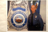 Police provided copy photo of the deceased officer, Detective, Jared Jensen. One is being emailed...