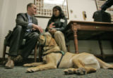 At the State Capitol in Denver Colorado,  on January 18, 2006, Julie Shephard, 20 (cq) of Boulder...