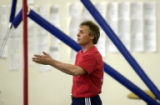 (Wheat Ridge, Colo., June 11, 2004)  Vladimir Artemev, a top gymnast in the old Soviet union in...