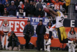 116 Penalty on Steelers cornerback Ike Taylor. WR Charlie Adams intended receiver.  Broncos #81...
