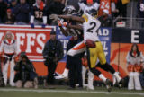 117 Penalty on Steelers cornerback Ike Taylor. WR Charlie Adams intended receiver.  Broncos #81...