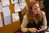 KAS050 Q&A with Rep. Morgan Carroll in her office in the state capitol on Monday, July 17,...