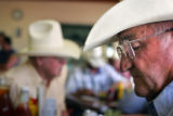 Rancher Jack Walter, cq, dines at Winter Livestock Cafe in La Junta on Tuesday, June 27, 2006. ...