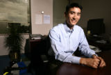 KAS028 Kenneth Ho (cq), senior associate at Cherokee Investment Partners, in his office on Friday,...