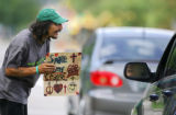 In the first half of 2006, police have issued 303 citations for panhandling, nearly the same...