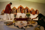 DLM337 Ravi Krishnaswamy, 29, of Centennial and his wife Sangeetha Krishnaswamy, 25, prepare for...